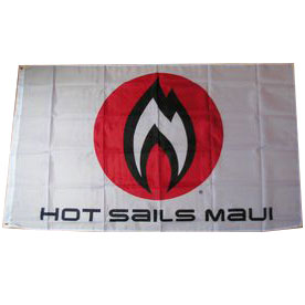 Hot Sails Maui Flame Flag