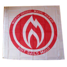 Hot Sails Maui Northshore Flag