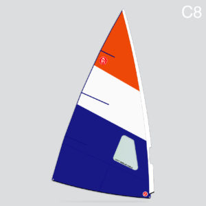 SummerFreak 5.5m windsurfer sail C8